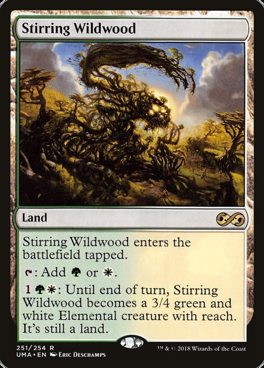 Top 20 Green/White Lands in Magic: The Gathering