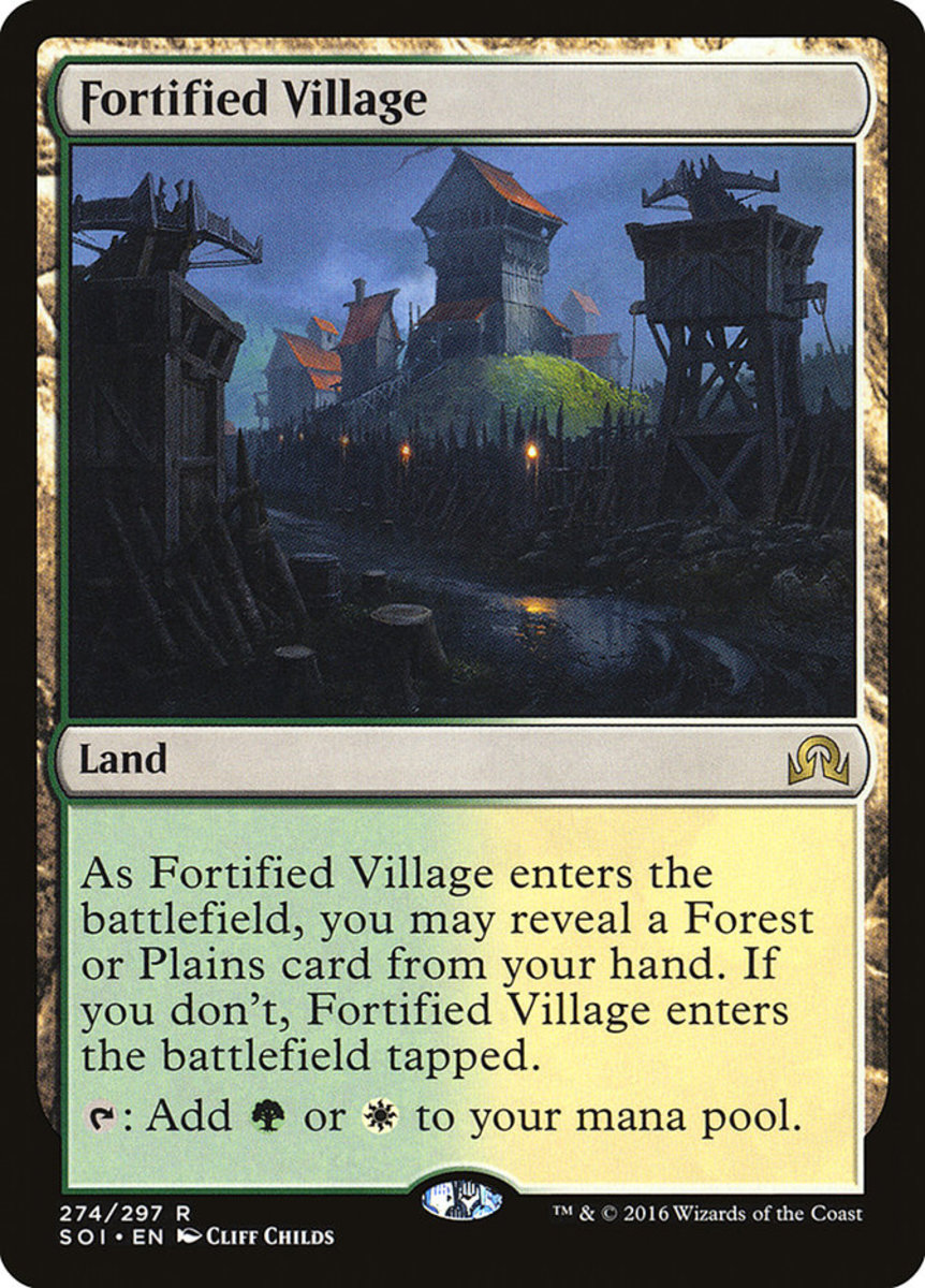 Fortified Village mtg