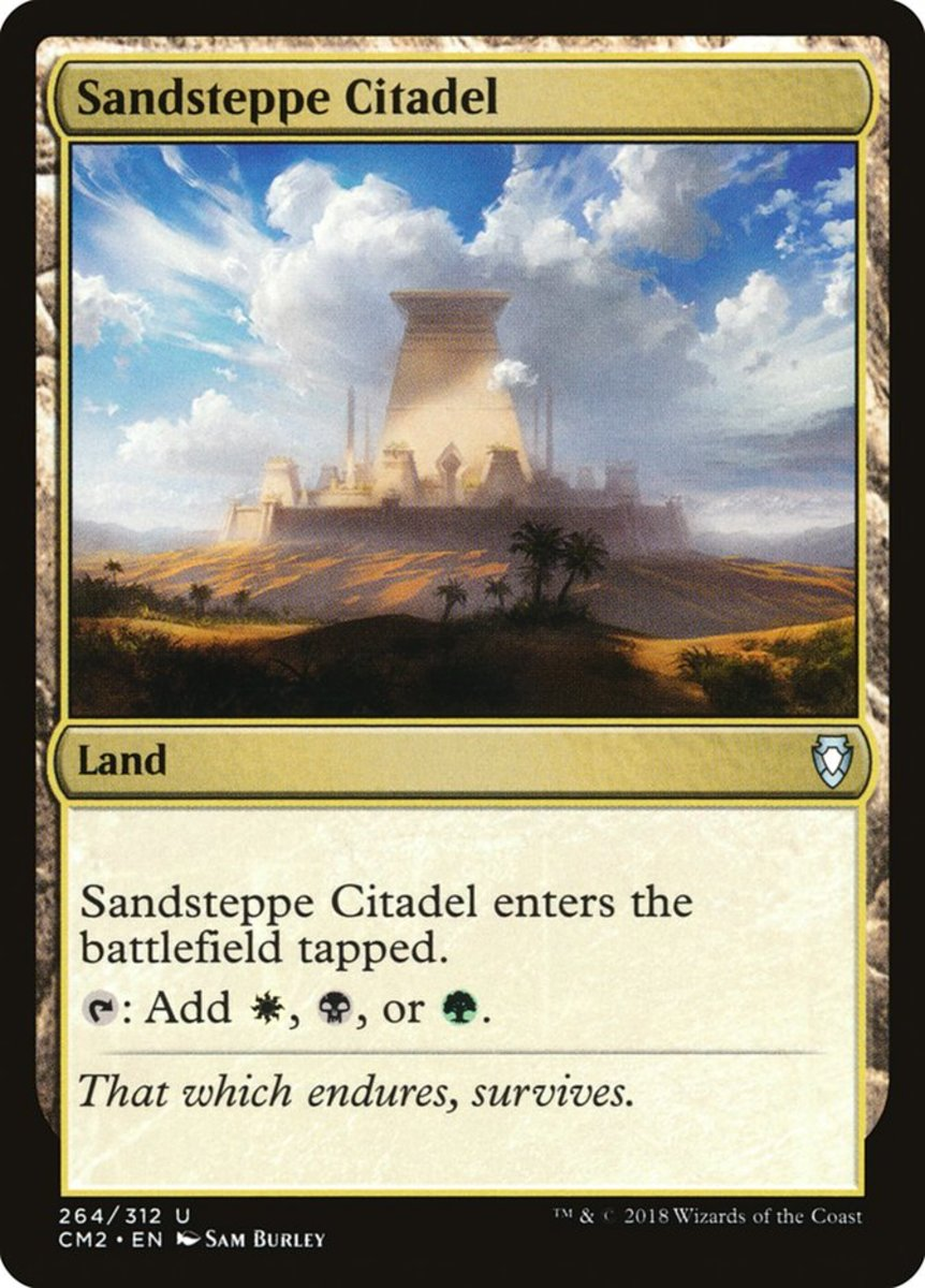 Sandsteppe Citadel mtg