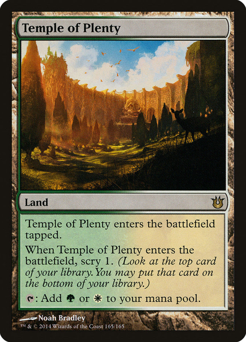 Temple of Plenty mtg