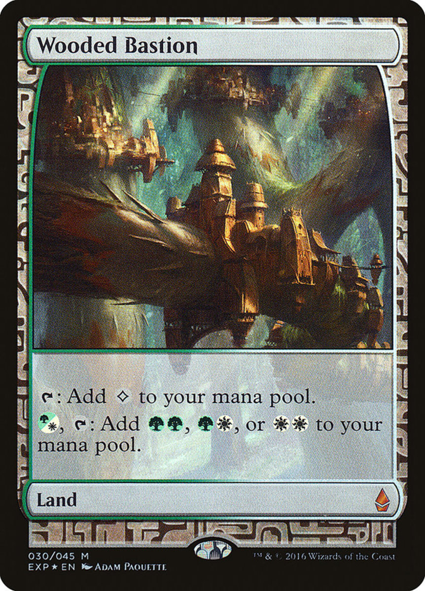 Wooded Bastion mtg