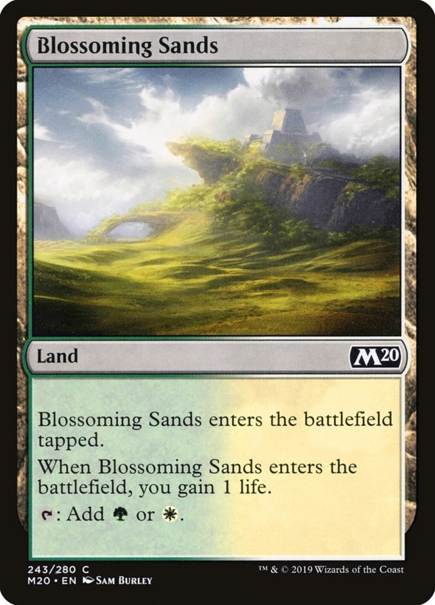 Blossoming Sands mtg