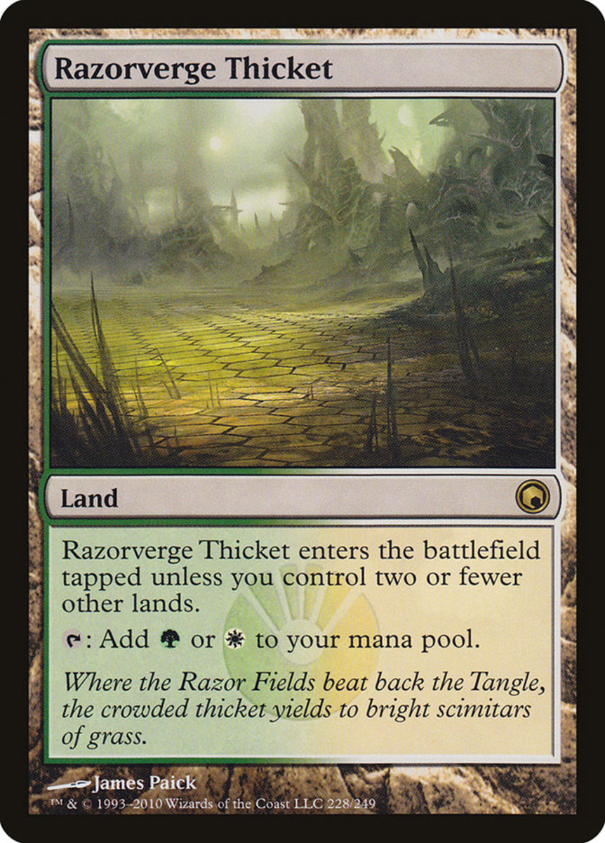 Razorverge Thicket mtg