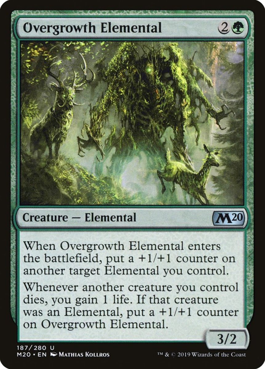 Overgrowth Elemental mtg