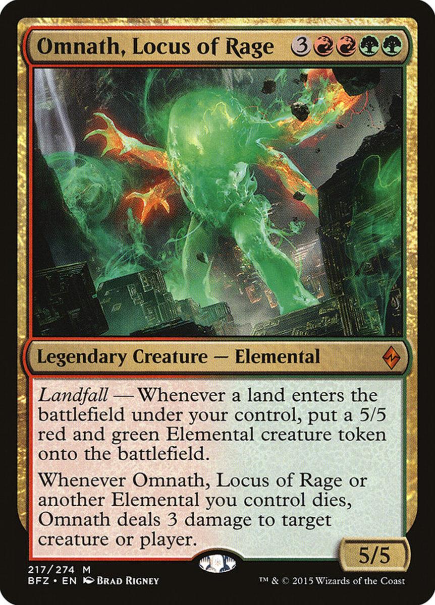 Omnath, Locus of Rage mtg