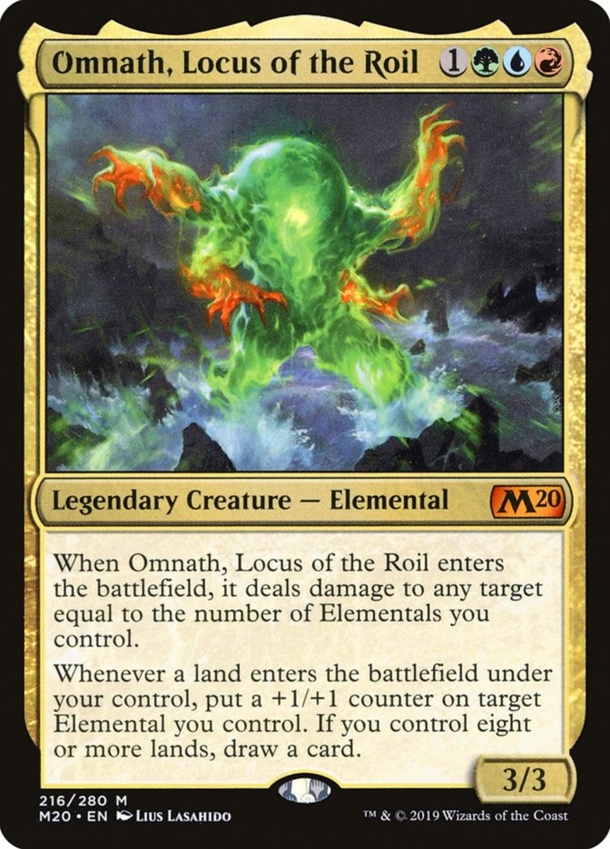 Omnath, Locus of the Roil mtg
