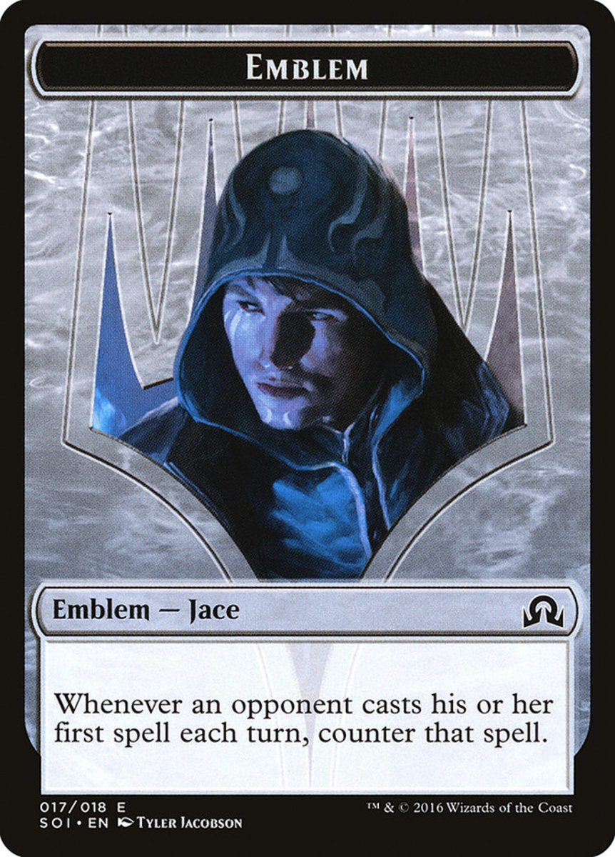 Jace, Unraveler of Secrets Emblem