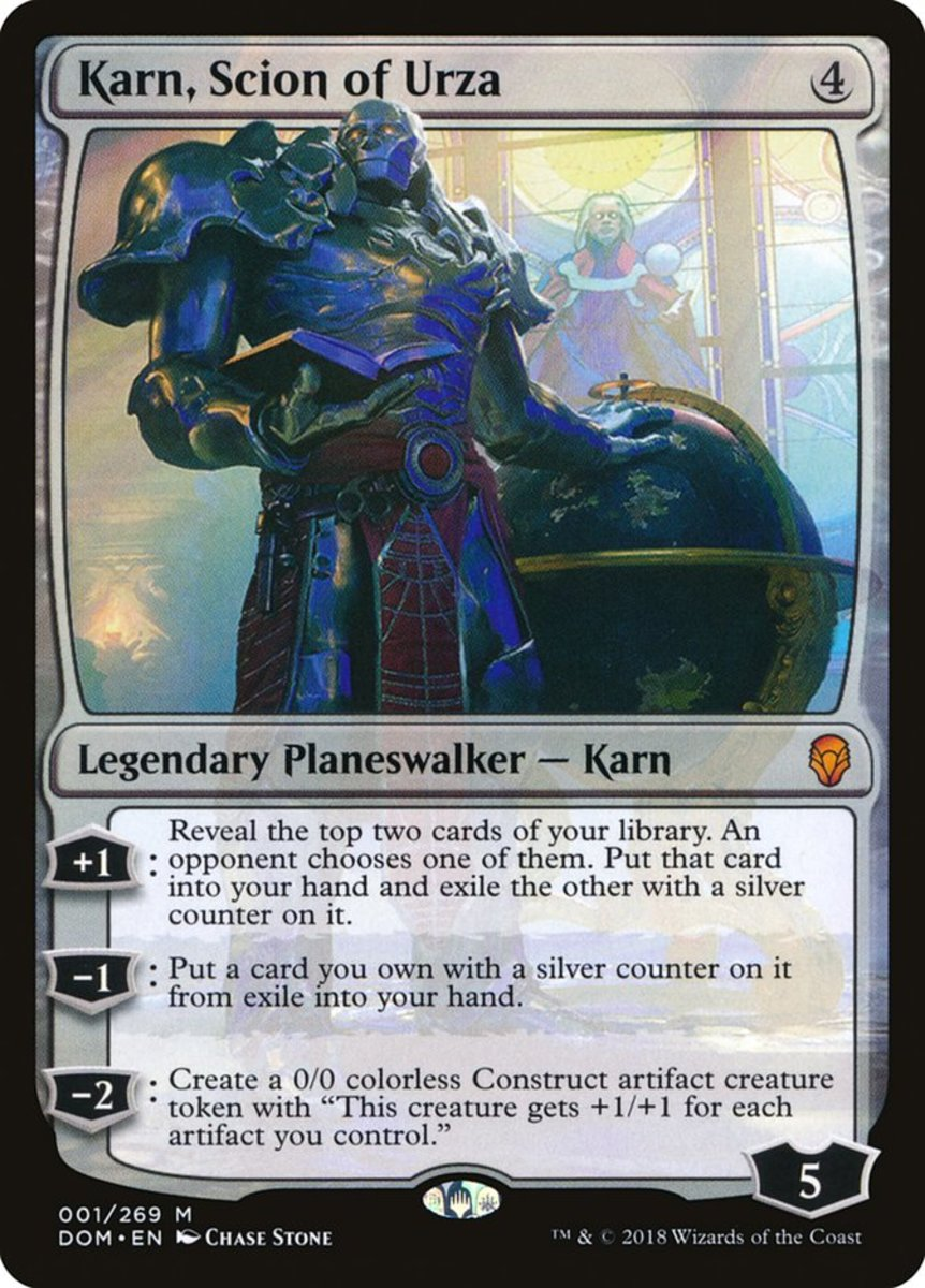Karn, Scion of Urza mtg
