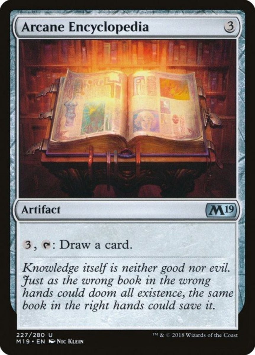 Arcane Encyclopedia mtg