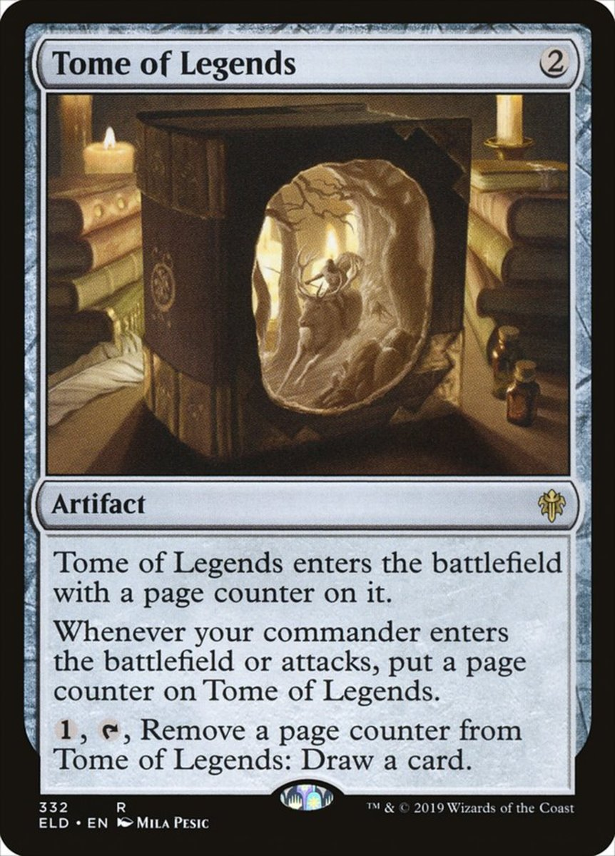 Tome of Legends mtg