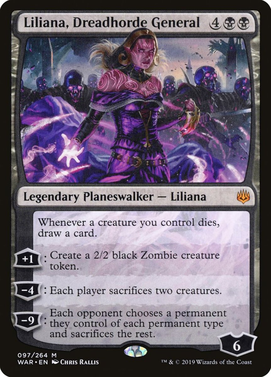 Liliana, Dreadhorde General  mtg
