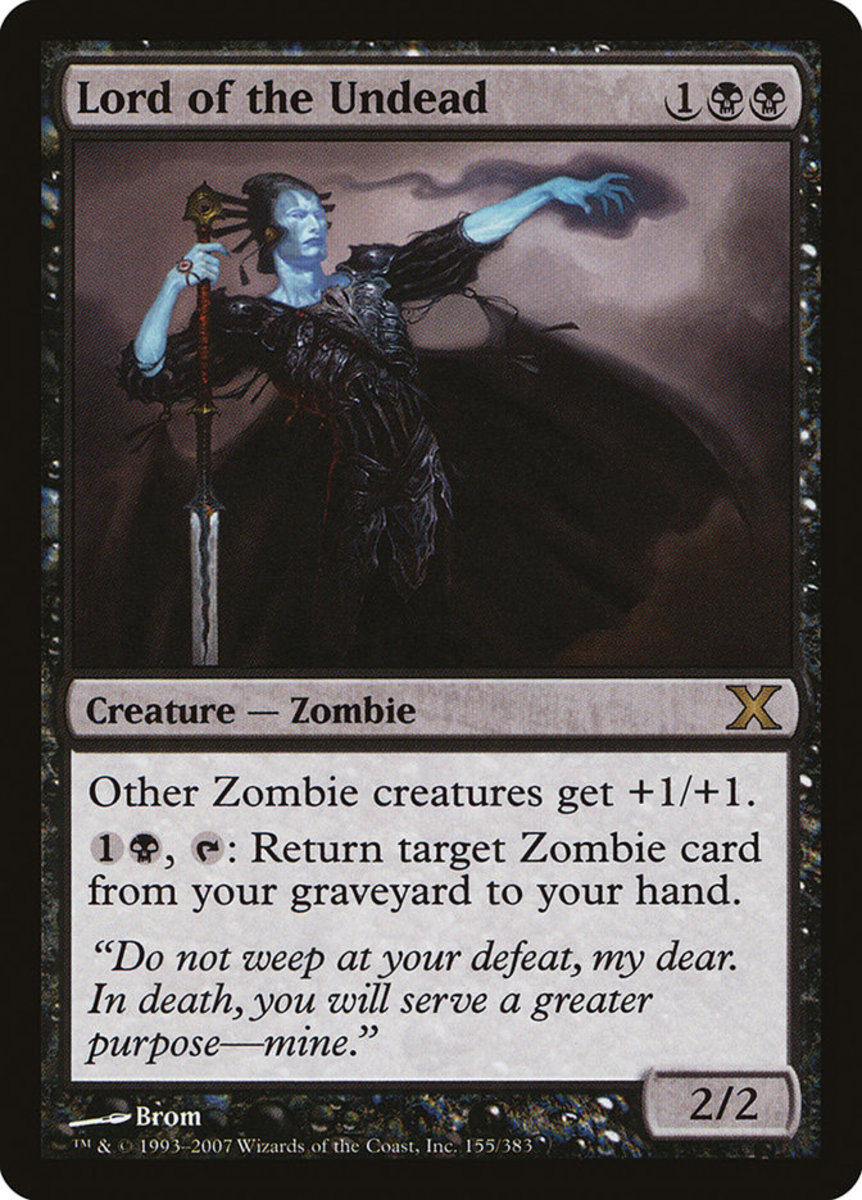Lord of the Undead mtg