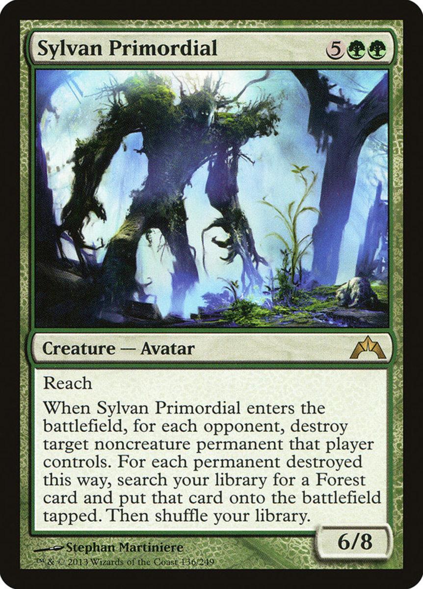 Sylvan Primordial mtg
