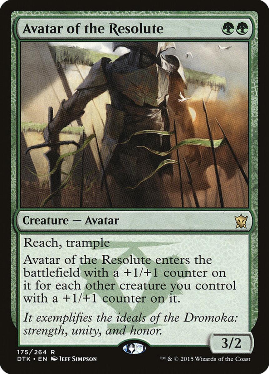 Avatar of the Resolute mtg