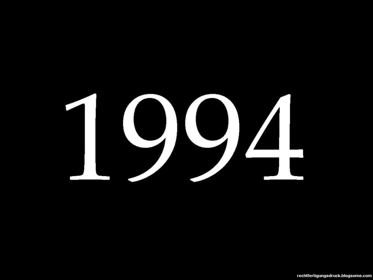 1994 Fun Facts, Trivia, and History