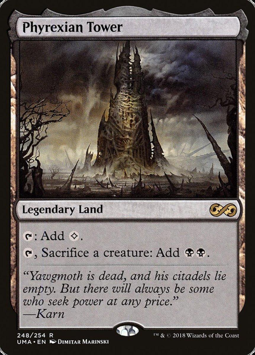 Phyrexian Tower mtg