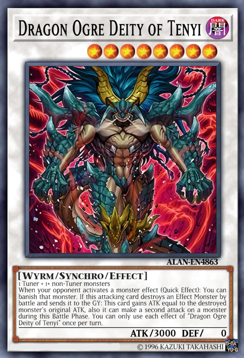 Tenyi's Dragon Ogre Deity