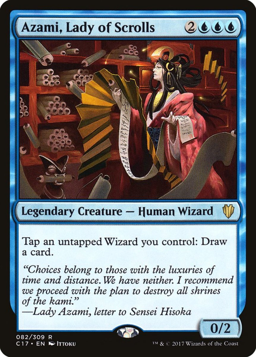 Azami, Lady of Scrolls mtg