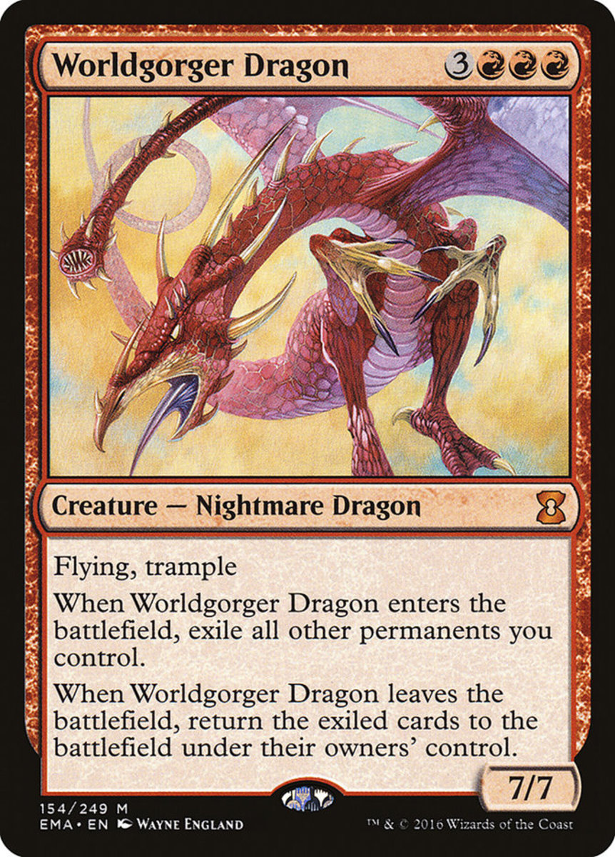 Worldgorger Dragon mtg