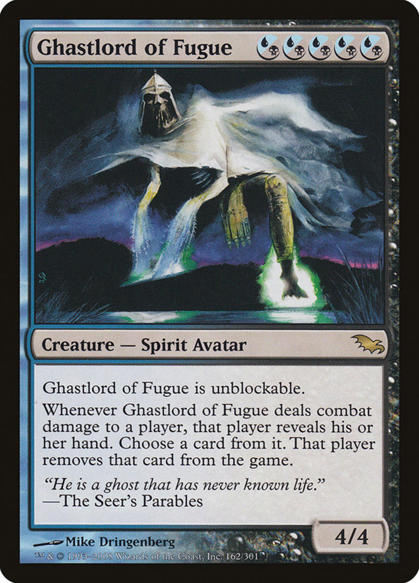 Ghastlord of Fugue mtg