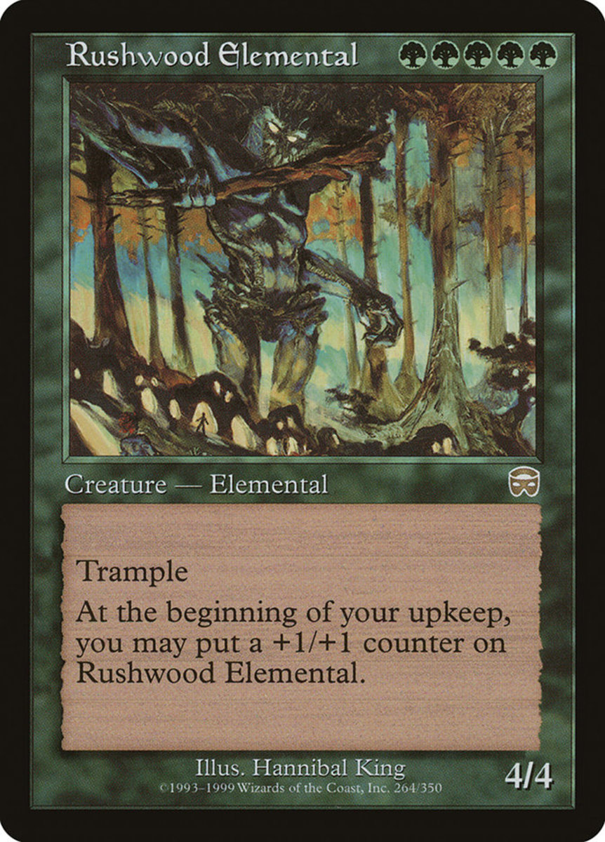 Rushwood Elemental mtg