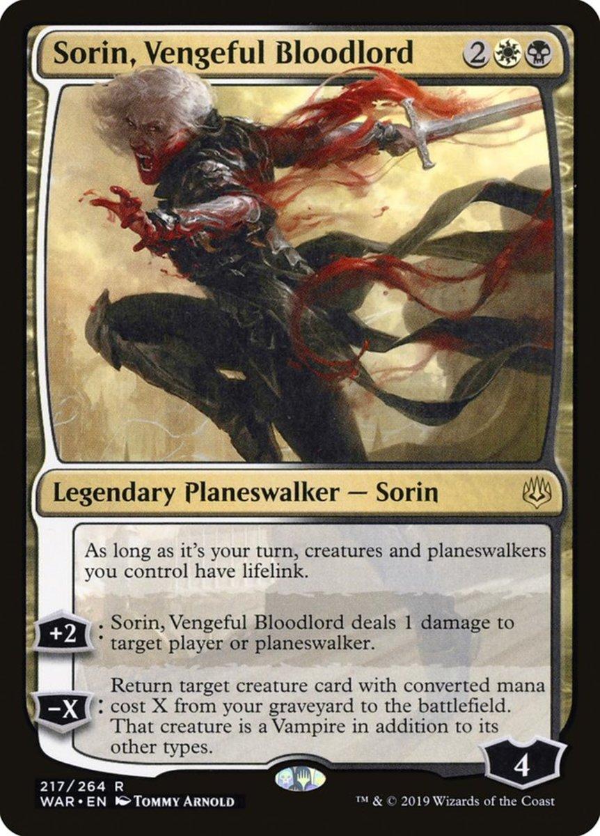 Sorin, Vengeful Bloodlord mtg
