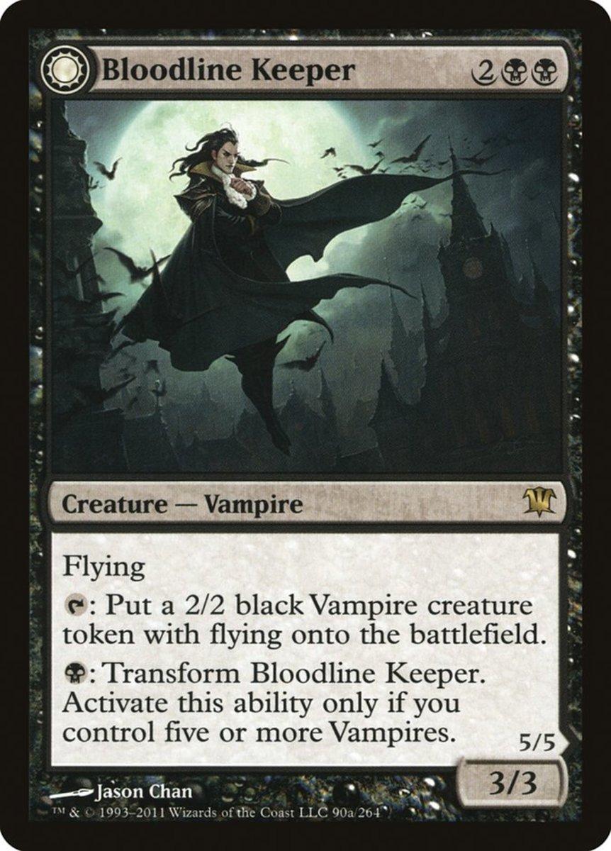 Bloodline Keeper mtg