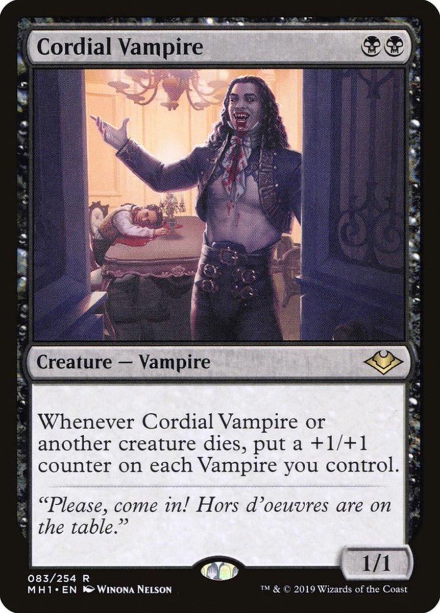 Cordial Vampire mtg