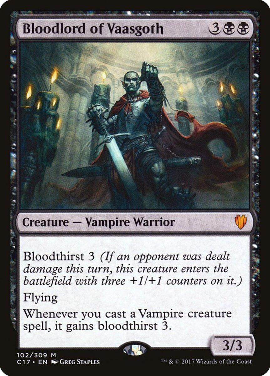 Bloodlord of Vaasgoth mtg