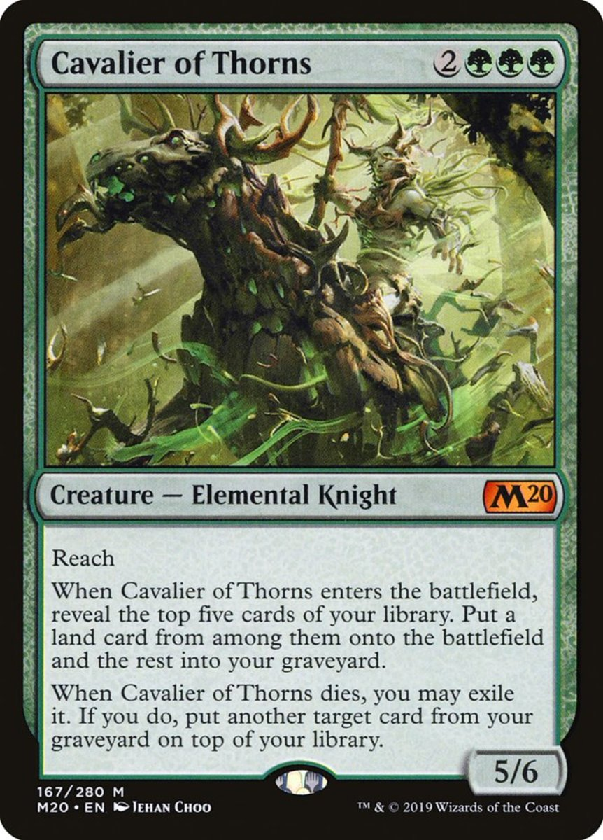 Cavalier of Thorns mtg