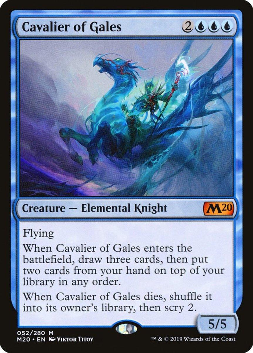 Cavalier of Gales mtg