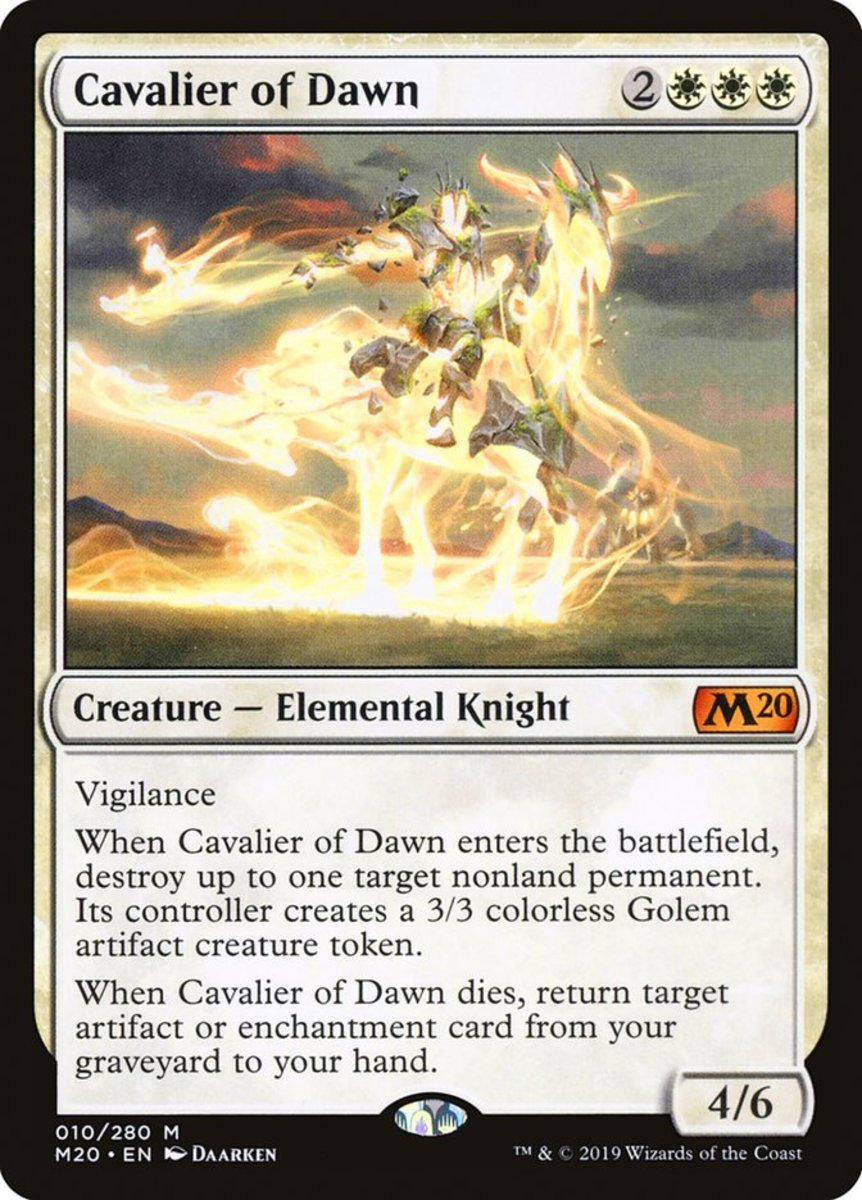Cavalier of Dawn mtg