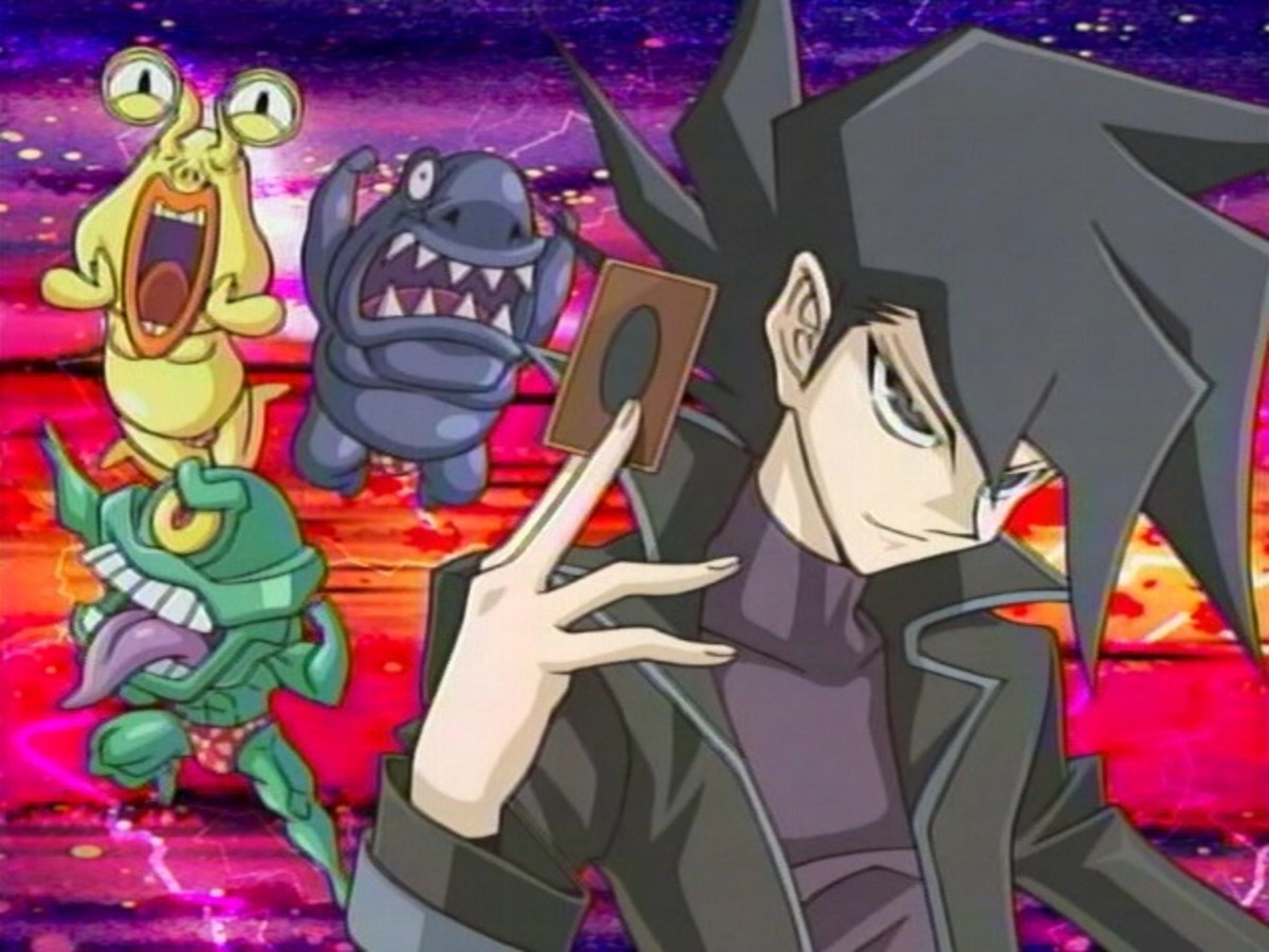 Chazz with the Ojama trio