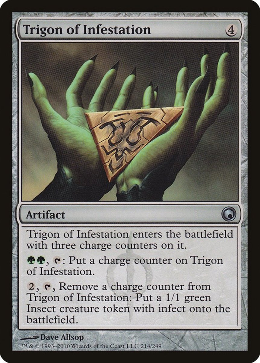 Trigon of Infestation mtg