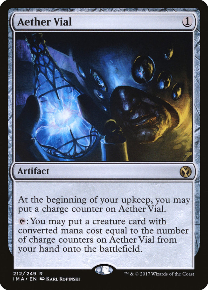 Aether Vial mtg