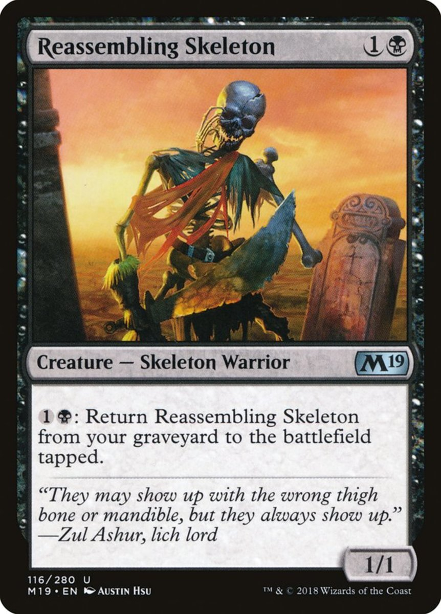 Top 10 Skeletons in Magic: The Gathering