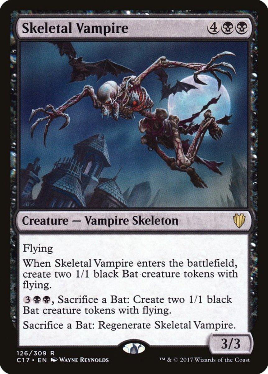 Skeletal Vampire mtg