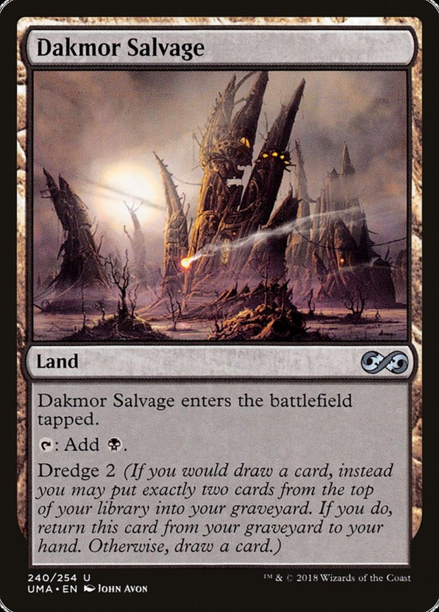 Top 10 Dredge Cards in Magic: The Gathering