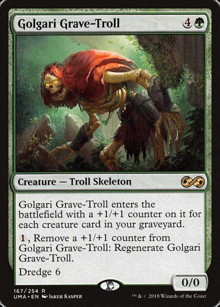 Golgari Grave-Troll mtg