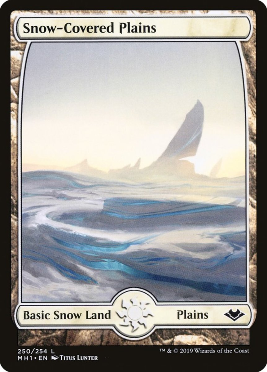 Why Players Use Snow Lands in Magic: The Gathering