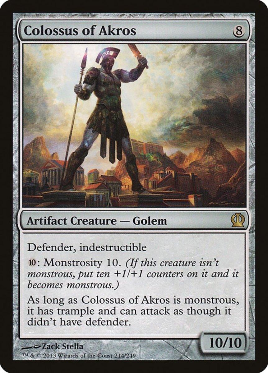 Colossus of Akros mtg