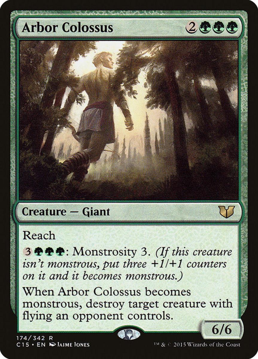 Arbor Colossus mtg