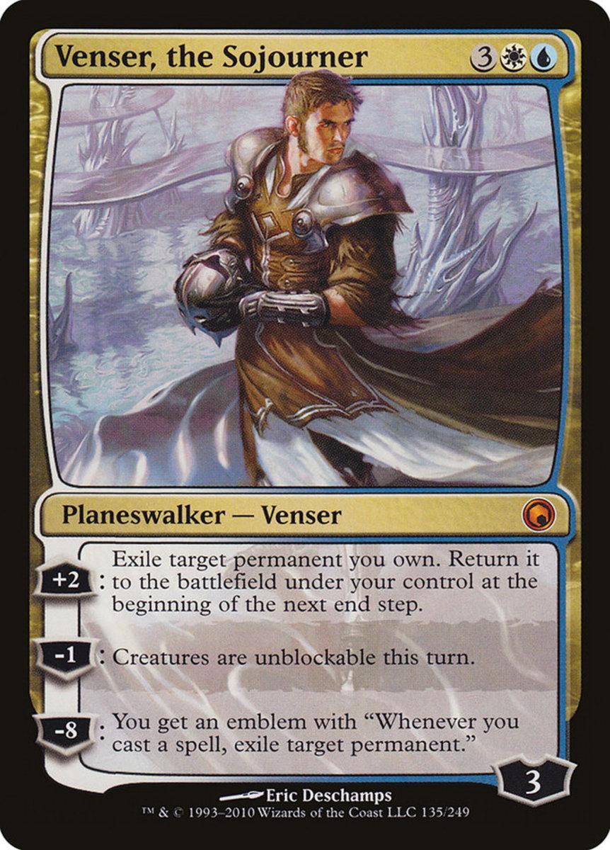 Venser, the Sojourner mtg