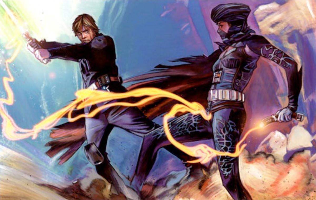 Luke vs Lumiya