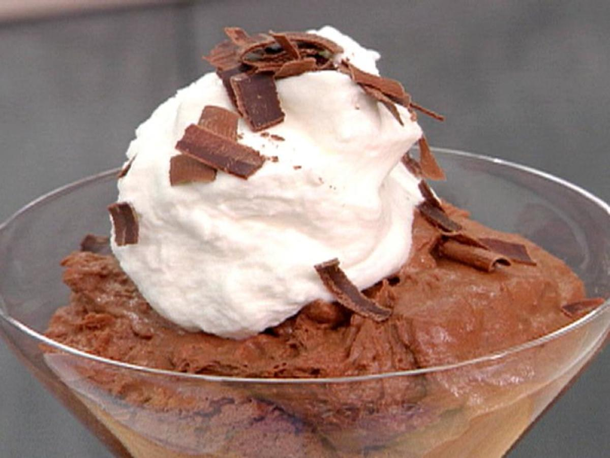 In 1985, chocolate mousse was a real crowd-pleaser.
