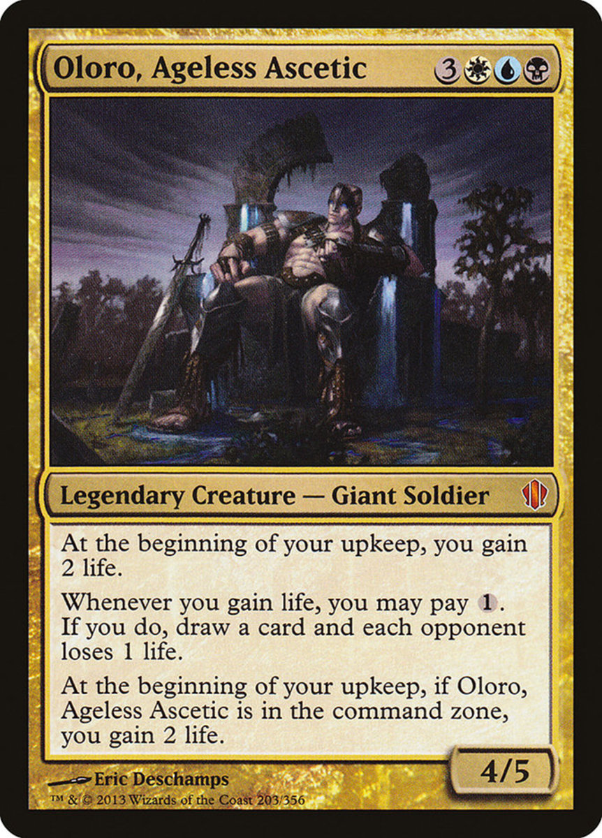 Oloro, Ageless Ascetic mtg