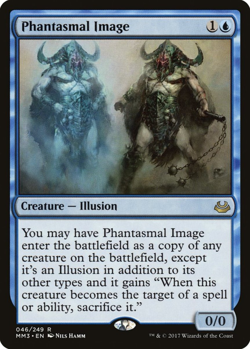 Phantasmal Image mtg