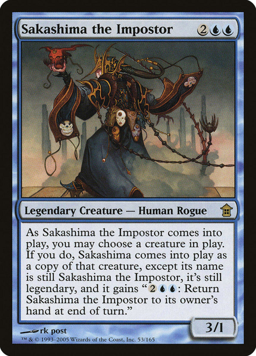 Sakashima the Impostor mtg