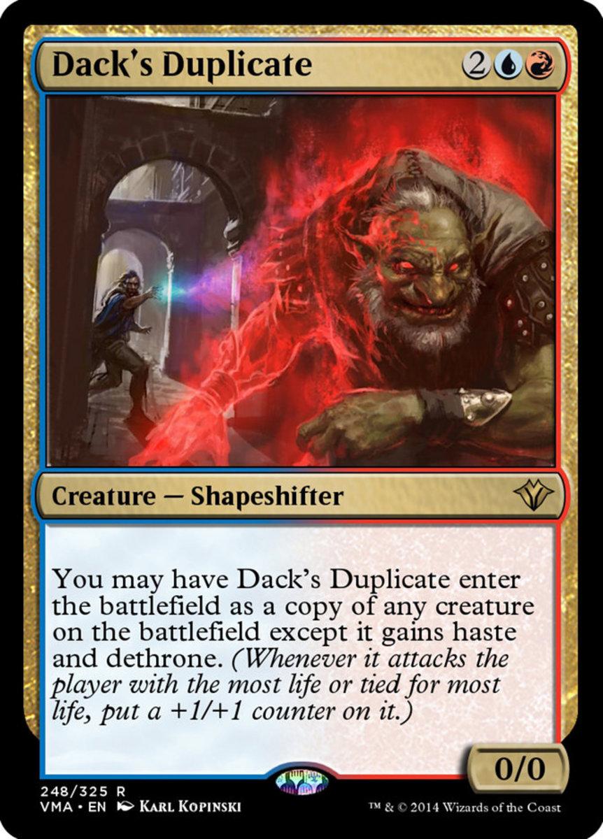 Dack's Duplicate mtg