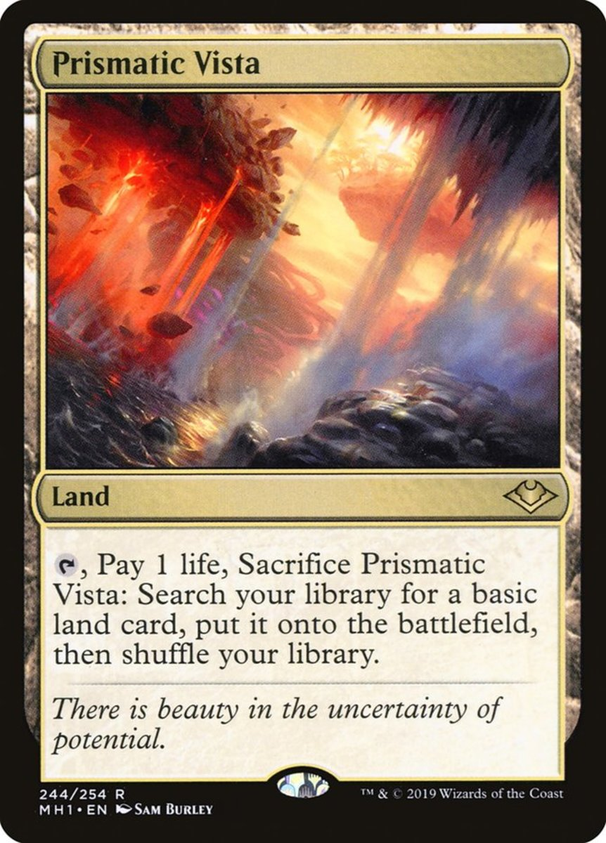 Prismatic Vista mtg